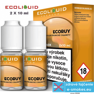 Ecoliquid e-liquid ECORUY 2 X 10ml 6mg