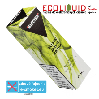 e-liquid Electra GREEN APPLE (ZELENÉ JABLKO) 10ml 6mg