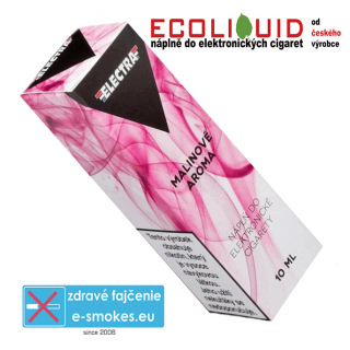 e-liquid Electra Raspberry(malina) 10ml 6mg