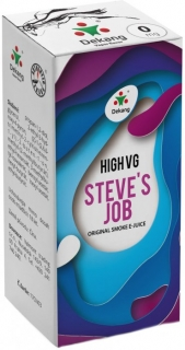e-liquid Dekang High VG Steve´s Job 10ml - 3mg (sladké a kyslé jablko)
