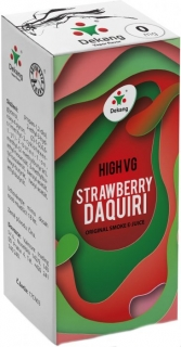 e-liquid Dekang High VG Strawberry Daiquiri 10ml - 3mg (jahodové daiquiri)