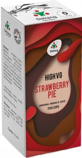 e-liquid Dekang High VG Strawberry Pie 10ml - 3mg (jahodový koláč)