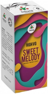 e-liquid Dekang High VG Sweet Melody 10ml - 3mg (broskyňa s citrónom)