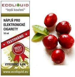 Ecoliquid e-liquid Cranberry 15ml 18mg