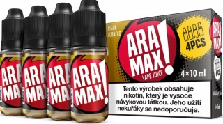 ARAMAX 4Pack Cigar Tobacco 4x10ml 12mg
