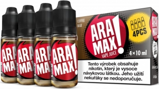 ARAMAX 4Pack Coffee Max 4x10ml 6mg