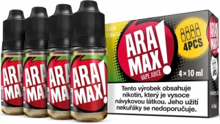 ARAMAX 4Pack Green Tobacco 4x10ml 3mg