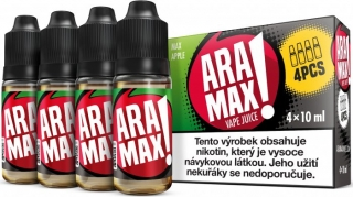 ARAMAX 4Pack Max Apple 4x10ml 6mg