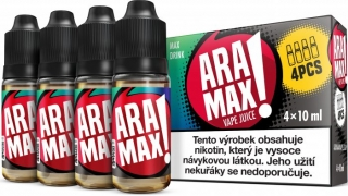 ARAMAX 4Pack Max Drink 4x10ml 6mg