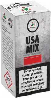 e-liquid Dekang USA MIX 10ml - 18mg