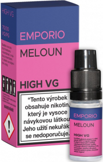 Liquid EMPORIO High VG MELON 10ml - 6mg