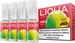 LIQUA Elements 4pack APPLE 4x10ml 6mg nikotínu