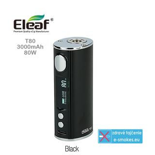Eleaf mod grip iStick T80 3000mAh  - black