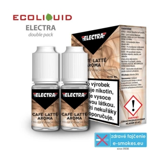 e-liquid Electra 2 pack Cafe Latte 2 x 10ml 6mg