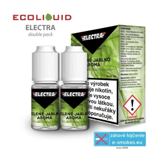 e-liquid Electra 2pack Green Apple 2x10ml 18mg