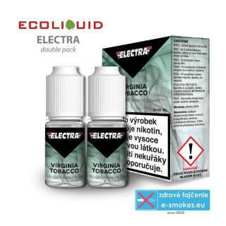 e-liquid Electra 2pack Virginia Tobacco 2x10ml 18mg