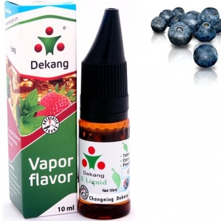 e-liquid Dekang SILVER Blueberry 10ml - 11mg (čučoriedka)