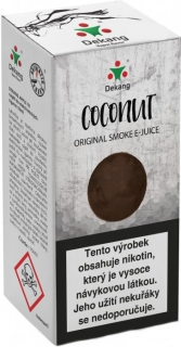 e-liquid Dekang Coconut 10ml - 11mg (Kokos)