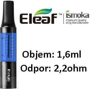 iSmoka - Eleaf mini BCC clearomizer 1,6 ml 2,2 ohm - modro-čierny