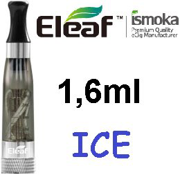 iSmoka - Eleaf ICE clearomizer 1,6 ml 2,4 ohm - čierny