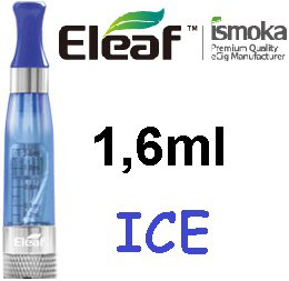 iSmoka - Eleaf ICE clearomizer 1,6 ml 2,4 ohm - modrý