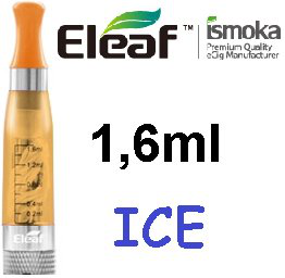 iSmoka - Eleaf ICE clearomizer 1,6 ml 2,4 ohm - žltý