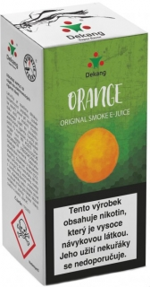 e-liquid Dekang Orange (pomaranč) 10ml - 11mg