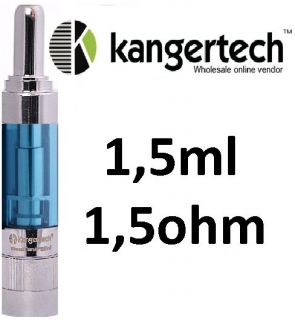 Kangertech GeniTank Mini clearomizer 1,5 ml 1,5 ohm - modrý