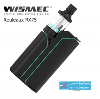 WISMEC full kit REULEAUX RX75 TC - čierno-tiffany