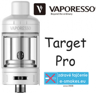 Vaporesso clearomizer Target PRO 2,5 ml/0,5ohm - biely