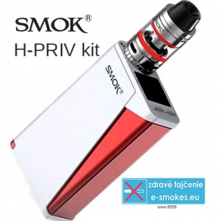 SmokTech H-Priv Full Kit grip TC220W -biely