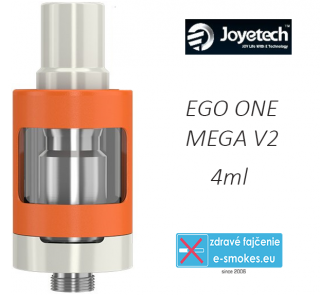 Joyetech clearomizer eGo ONE Mega V2  4,0 ml - orange