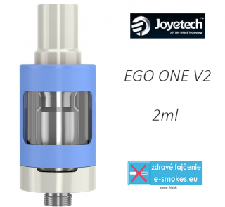 Joyetech clearomizer eGo ONE V2  2,0 ml - modrý
