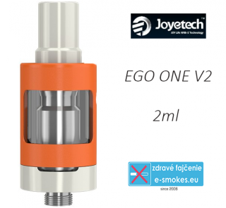 Joyetech clearomizer eGo ONE V2  2,0 ml - orange