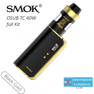 SmokTech grip full kit OSUB TC40W 1 x 1350 mAh - čierno-zlatý