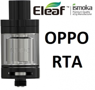 iSmoka - Eleaf clearomizer OPPO RTA 2,0 ml - čierny