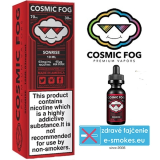 COSMIC FOG e-liquid SONRISE 10ml-0mg