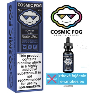COSMIC FOG e-liquid SONSET 10ml-0mg