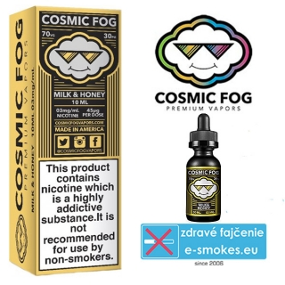 COSMIC FOG e-liquid MILK & HONEY 10ml-0mg
