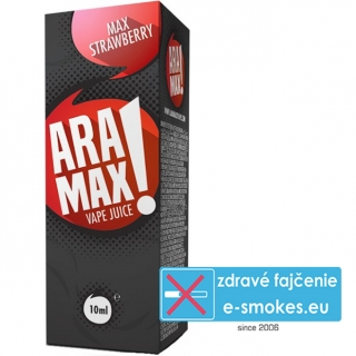 e-liquid ARAMAX Max Strawberry 10ml (0mg nikotínu/ml)