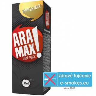 e-liquid ARAMAX Vanilla Max 10ml (0mg nikotínu/ml)