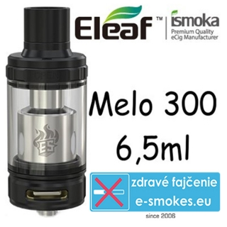 iSmoka - Eleaf Melo 300 clearomizer 6,5 ml - čierny