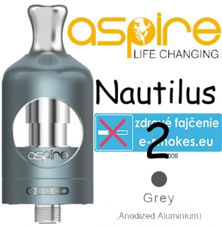 aSpire Nautilus 2 clearomizer 2 ml - sivý