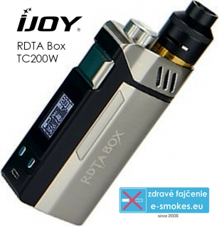 IJOY RDTA Box TC200W all in one grip - strieborný