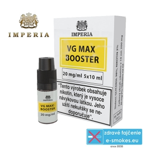 booster Imperia VG MAX 0/100 5x10ml - 20mg