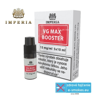 booster Imperia VG MAX 0/100 5x10ml - 15mg