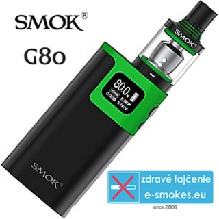 Smoktech full kit G80 TC 80W - čierno zelený