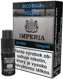 báza Imperia Velvet 20/80 5x10ml - 12mg