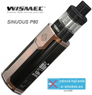 Wismec full kit Sinuous P80 - bronze