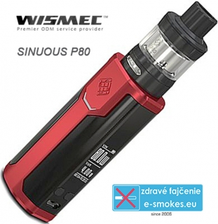 Wismec full kit Sinuous P80 - červený